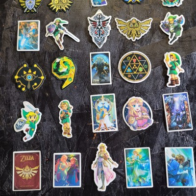 The Legend of Zelda Stickers (20pc)