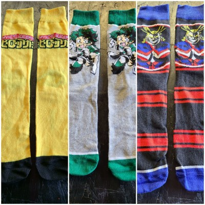 My Hero Academia Socks (size 8-11)