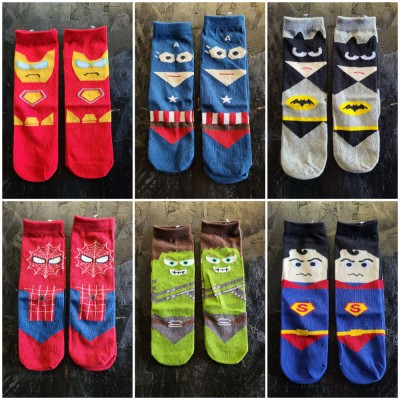 Super Hero Ankle Socks